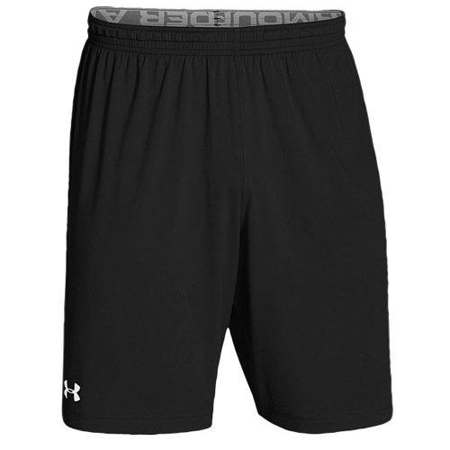 Under Armour Team Raid Shorts, Black/White, Large (Benn Ray)