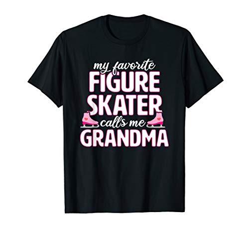 Figure Skating Grandma Funny Ice Skater Gift T-shirt ()