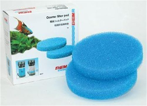 EHEIM Coarse Filter Pad (Blue) for Classic External Filter 2217 (2 Pieces) by Eheim