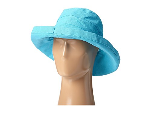 - Scala Women's Cotton Hat with Inner Drawstring and Upf 50+ Rating,Turquoise,One Size