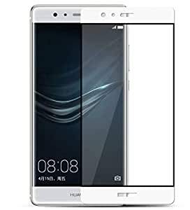Glass Screen Protector For HUAWEI P9 - White
