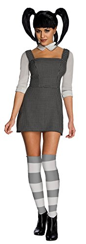 Elsa Frankenweenie Costume (UHC Women's Frankenweenie Sexy Elsa Van Helsing Halloween Themed Fancy Dress, S (6-8))