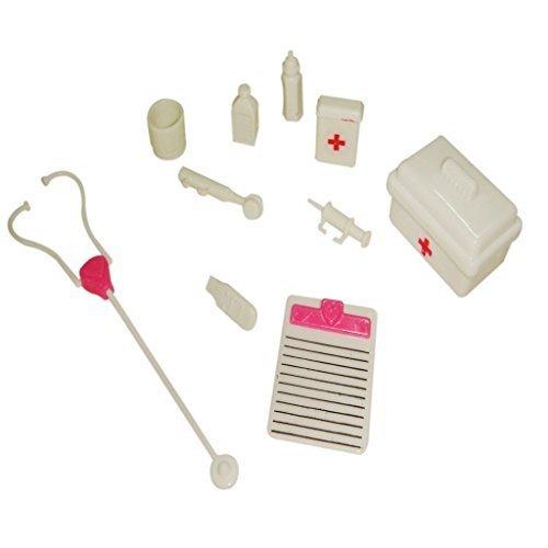 Soccik Arztkoffer Medizinisch Koffer Kinder Arztköfferchen Pretend und Play Doktorkoffer mit Arzt Zubehör Classic Jungen Rollenspiele Spielzeug Für Kinder