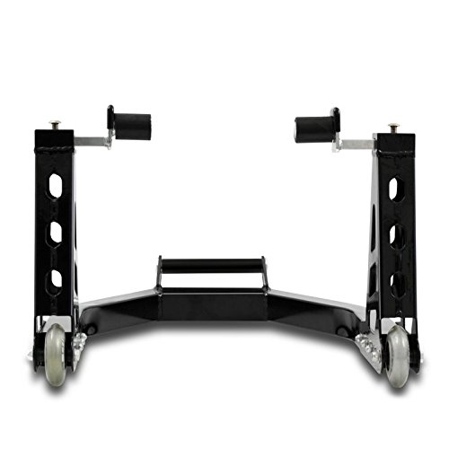 Motorcycle Rear Paddock Stand Suzuki SV 650 ConStands Superlight Universal noir