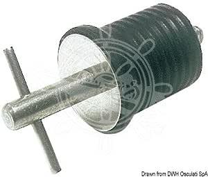 Osculati Tappo acqua INOX espansione 22 mm (SS Water Drain