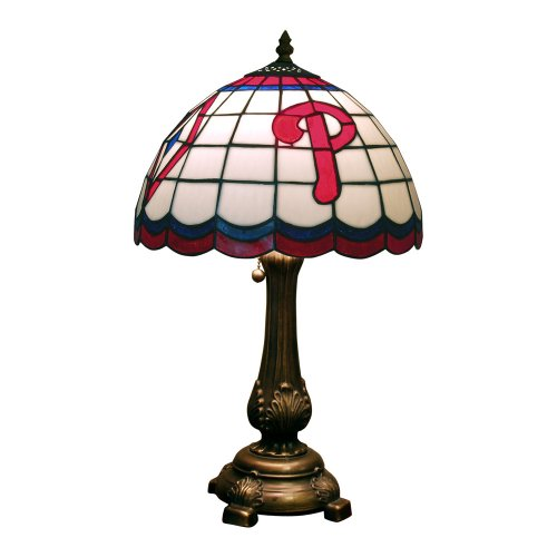 MLB Philadelphia Phillies Tiffany Table Lamp