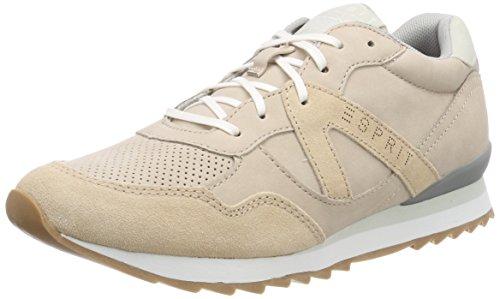 Esprit Lace Damen Astro Fino Sneaker Beige (beige Pelle)