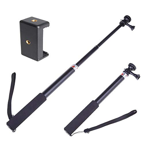 Yantralay School Of Gadgets Extendable Monopod Tripod Pole Handheld Camera Selfie Stick Mount with Mobile Attachment for…