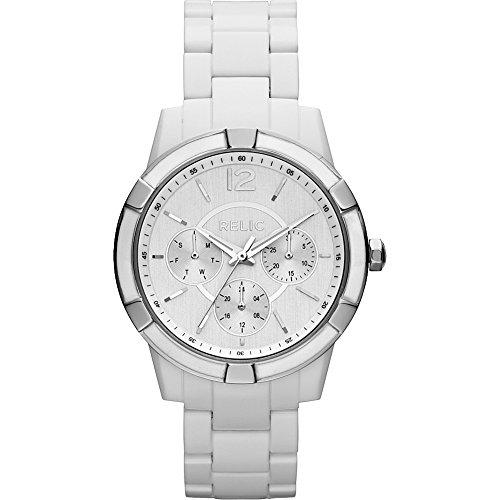 Relic Women's ZR15699 Payton Multi White Plastic Watch