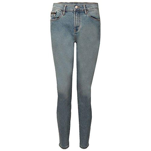 Skinny Vaquero Rise Azul Jeans Calvin Klein Ankle High W OxqwIRzTw