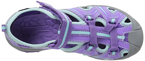 Merrell blue Hydro Randonnée Sandales Fille Hiker De Purple q6OqC