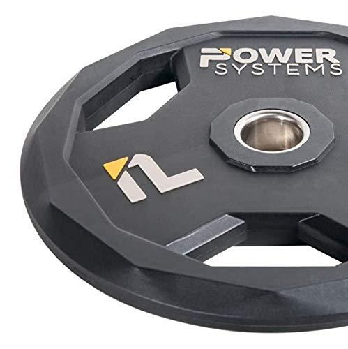 Power Systems 55883 Urethan-Hantelscheibe, 2,3 kg, Schwarz