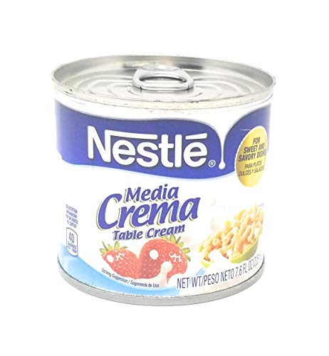 Media Crema Mexican Cream Sauce, 7.6-Ounce (Pack of 8)
