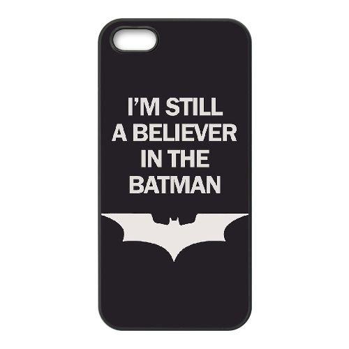 Batman coque iPhone 4 4S Housse téléphone Noir de couverture de cas coque EBDOBCKCO09701