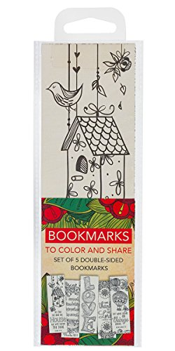Creative Expressions of Faith Collection #3: Bookmarks to Color and Share - 5 Pack from Christian Art Gifts