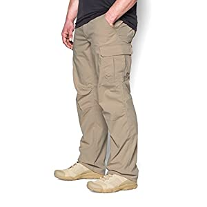 Under Armour Men's Storm Tactical Patrol Pants, Desert Sand/Desert Sand, 34/32
