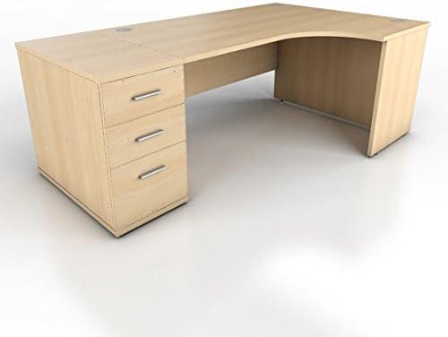 Icarus mobiliario de Oficina Mano Derecha Panel Pierna Escritorio ...