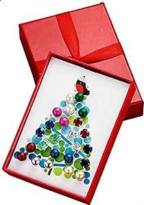 Avon Festive Decoration Earrings Set