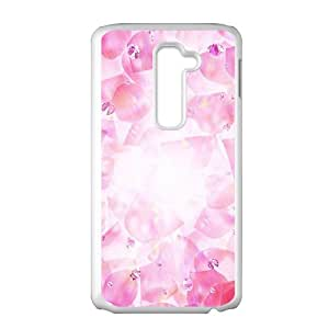 Pink petal Phone Case for LG G2