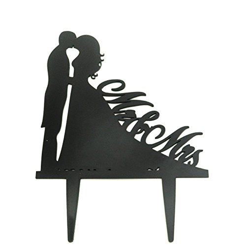 Cake Topper, Wedding Cake Topper, Acrylic Cake Topper, Cake Decorations, Bride and Bridegroom, Mr and Mrs