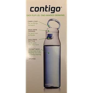 Contigo Jackson Water Bottles 24oz Set of 2 Smoke and Monaco