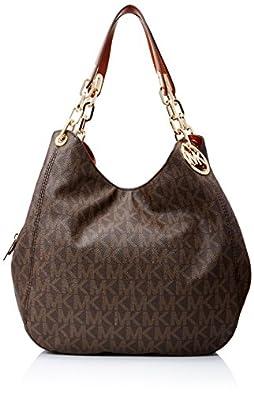 michael kors fulton large shoulder tote brown handbags. Black Bedroom Furniture Sets. Home Design Ideas