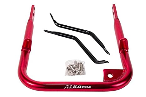 Yamaha Raptor 350 YFM 350 2004-2013 ATV Rear Grab Bar Bumper Red