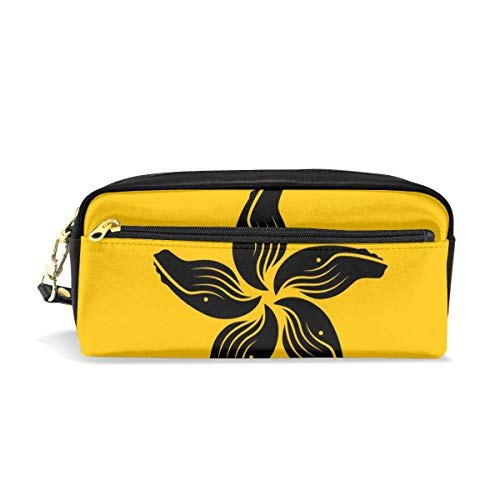 A San Francisco Flag Canvas Cosmetic Pen Pencil Stationery Pouch Bag Case]()