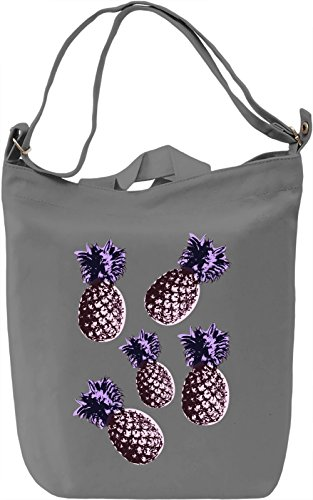 Pop Art Pineapples Borsa Giornaliera Canvas Canvas Day Bag| 100% Premium Cotton Canvas| DTG Printing|