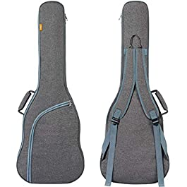 CAHAYA Electric Guitar Bag Padded Electric Guitar Gig Bag Case 0.35in Padding Dual Adjustable Shoulder Strap Electric…