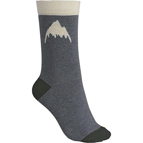 Burton Women's Apres Socks (3 Pack), Heathered, Small/Medium