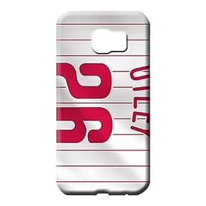 samsung galaxy s6 covers Shock Absorbent High Quality phone case phone back shells philadelphia phillies mlb baseball