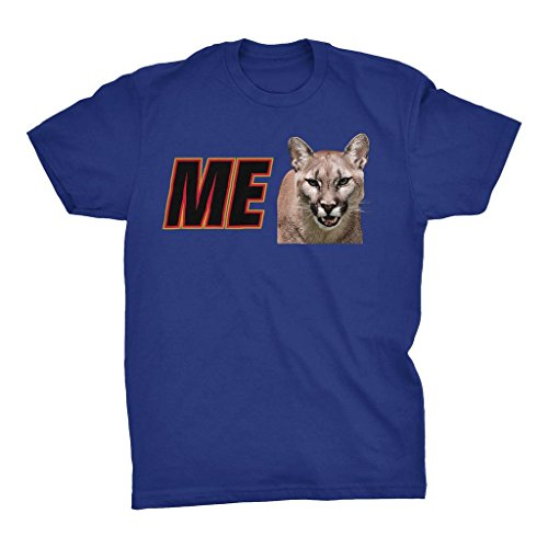 ME Cougar Sponsor - I Wanna Go Fast Funny T-shirt,Royal,X-Large -
