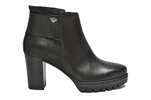 Nero Giardini Polacchini scarpe donna nero 9937 A719937D