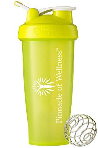 Pinnacle of Wellness Blender Bottle Classic Loop Top Shaker Cup, 28 oz.