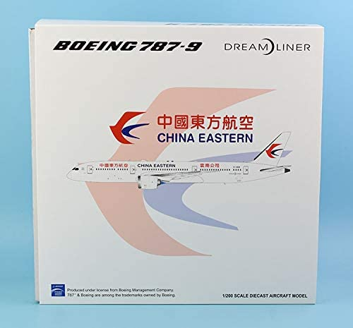 "JC Wings 1:200 XX2261 China Eastern""Dreamliner"" 飛行機 ボーイング Boeing B787-9 ダイキャスト航空機モデル Reg#B-206K"