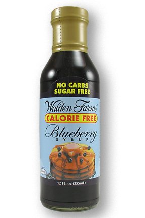 Walden Farms Blueberry Syrup, 12 Ounce - 6 per - Case Sugar Syrup Free