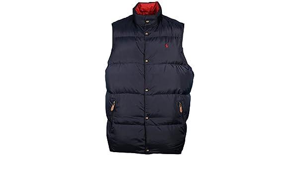Polo Ralph Lauren Hombre Big & Tall Reversible Down Puffer vest ...
