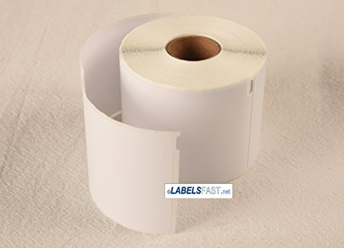 4 rolls of Dymo Compatible 30387 Thermal Internet Postage Labels 2-5/16'' X 10-1/2'' | Rectangle | White | Direct Thermal | Permanent-adhesive | 100 Labels Per Roll | This Listing for 4 Rolls. by Labels123