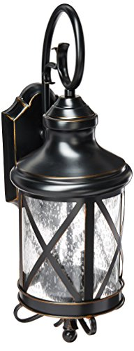 Bel Air Lighting Aluminum Outdoor Post With Lanterns