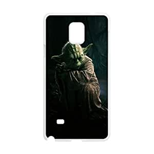 Samsung Galaxy Note 4 Cell Phone Case White Star Wars Yoda Phone Case Cover Sports Unique CZOIEQWMXN20510