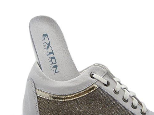Pericoli Chaussures argento Osvaldo Bianco Femme 4d5qqw7x