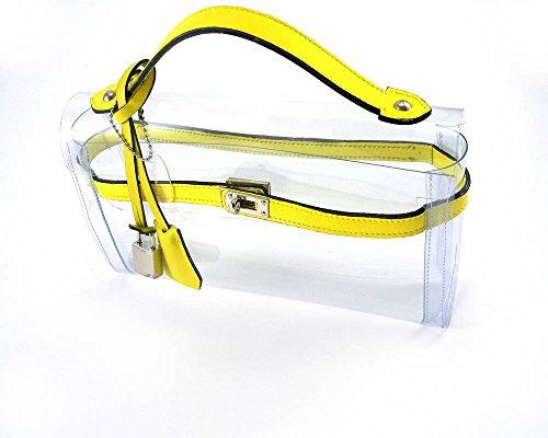 Mon Autre Sac - Cartera de mano para mujer Amarillo - amarillo