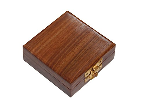 - Challenge Coin Presentation Box - Solid Wood (1 Coin - Shesham)