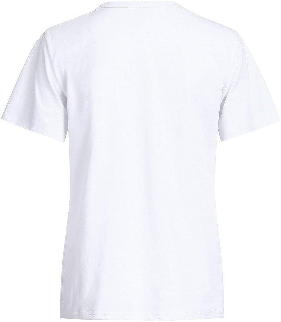 BaZhaHei 3D Stampa Animale T-Shirt Donna Manica Corta Canotta,Donna Casuale Top O-Collo Moda Maglietta Tees Eleganti Camicetta Estate Camicia-Donna Gilet Sportivi S-3XL