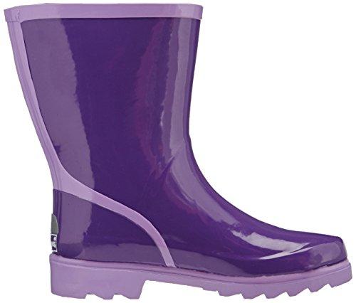 Klassischer 797 Stiefelette violett Stivaletti Donna Viola Playshoes Gummistiefel Damen flieder Regenstiefel lila 6RPqdF