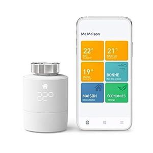 tado° Tête Thermostatique Connectée et Intelligente – Kit de Démarrage V3+ – Contrôle Intelligent du Chauffage…