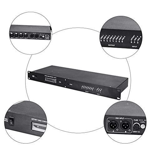 SHOPUS | V-Show 8 Port Artnet DMX Controller 3 PIN DMX