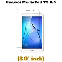 M.G.R.J® Tempered Glass Screen Protector for Honor Mediapad T3 Kobe-L09AHN Tablet (8 inch)