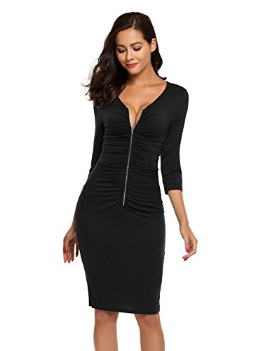 Ruched Front Dress - 4